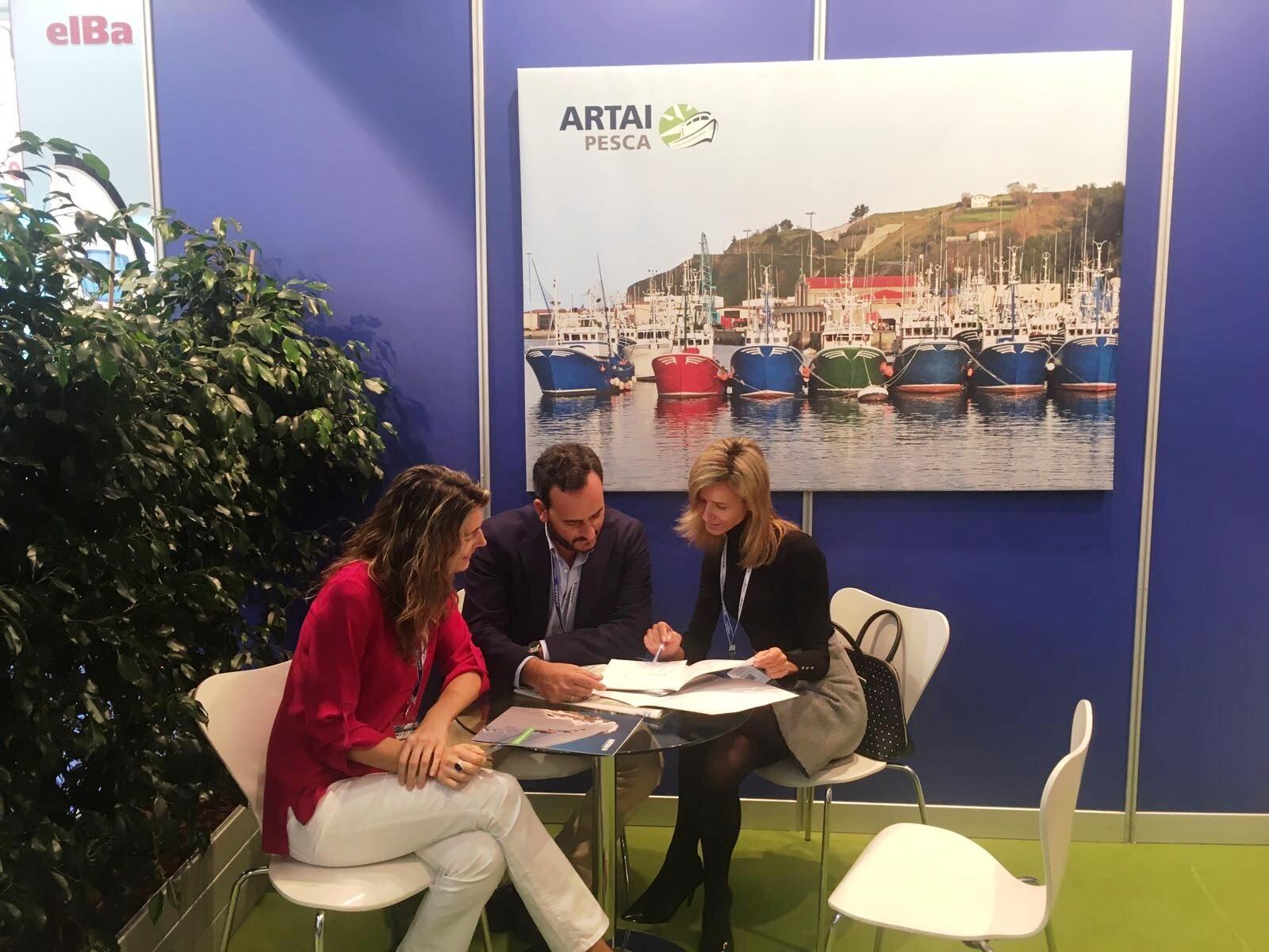 ARTAI PESCA, referente en el mercado asegurador marítimo, participa un año más en Conxemar