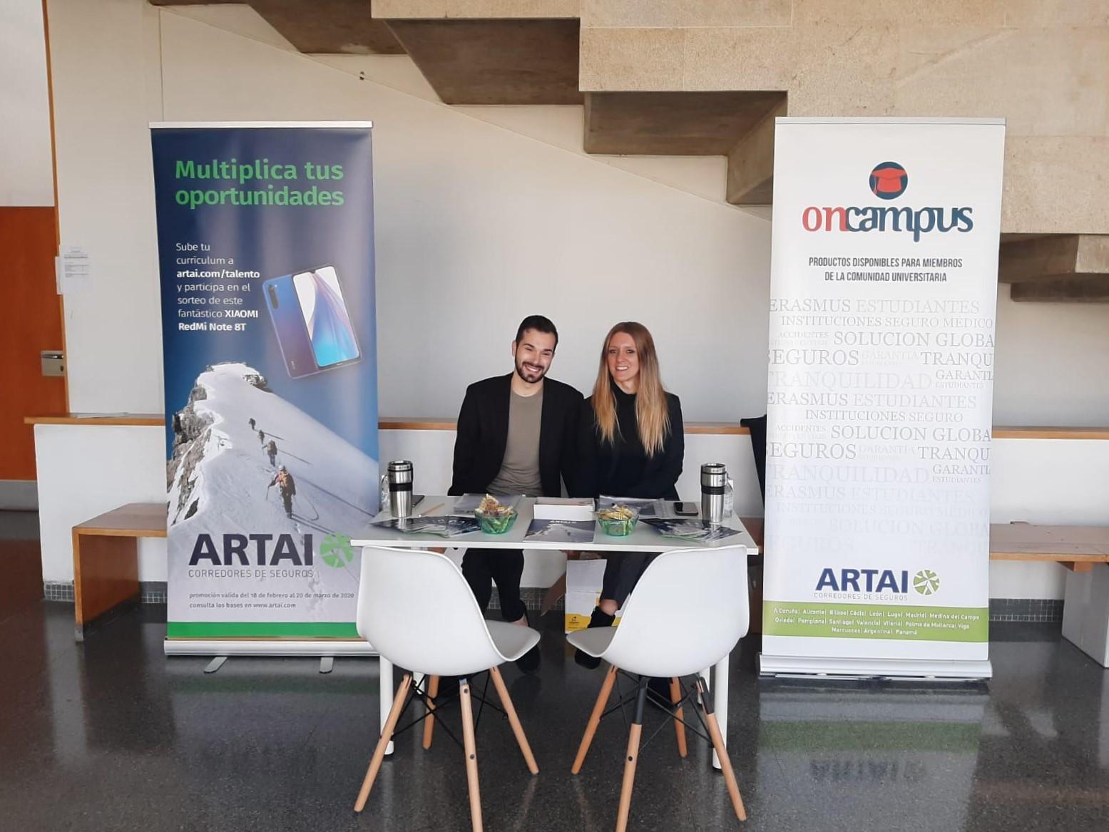 ARTAI participa en el II Foro Empleo de la Universidade de Vigo