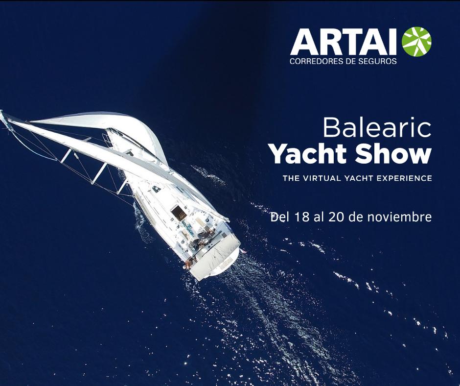 ARTAI participa en el Balearic Yacht Show, la primera feria náutica virtual de Baleares